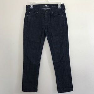 NWOT 7 for all Mankind Roxanne Ankle Skinny Jeans